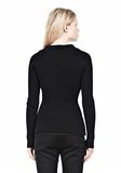 ALEXANDER WANG PINCHED WAIST KNIT PULLOVER TOP Adult 8_n_d