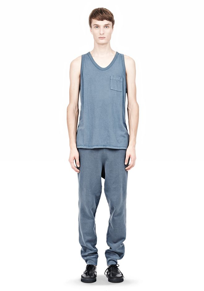 T by ALEXANDER WANG CLASSIC TANK WITH POCKET TEE Adult 12_n_f