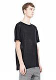 T by ALEXANDER WANG LINEN SILK SHORT SLEEVE TEE Short sleeve t-shirt Adult 8_n_a