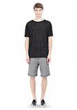T by ALEXANDER WANG LINEN SILK SHORT SLEEVE TEE Short sleeve t-shirt Adult 8_n_f