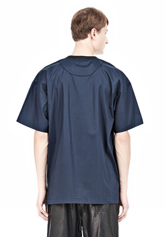 T by ALEXANDER WANG COTTON POPLIN SHORT SLEEVE TEE Short sleeve t-shirt Adult 12_n_d