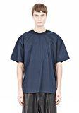 T by ALEXANDER WANG COTTON POPLIN SHORT SLEEVE TEE Short sleeve t-shirt Adult 8_n_e