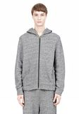 T by ALEXANDER WANG SPECKLED FRENCH TERRY HOODIE HOODIE Adult 8_n_e