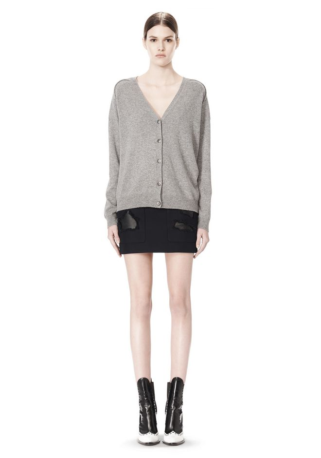 ALEXANDER WANG PEEL AWAY CARDIGAN  CARDIGAN Adult 12_n_f