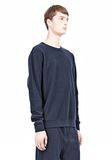 T by ALEXANDER WANG PIQUE DOUBLE KNIT SWEATSHIRT TOP Adult 8_n_a