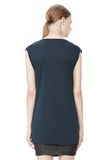 T by ALEXANDER WANG CLASSIC MUSCLE TEE WITH POCKET TOP Adult 8_n_d