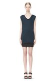 T by ALEXANDER WANG CLASSIC MUSCLE TEE WITH POCKET TOP Adult 8_n_f