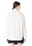 ALEXANDER WANG OVERSIZED DRESS SHIRT TOP  8_n_d