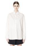 ALEXANDER WANG OVERSIZED DRESS SHIRT TOP  8_n_e