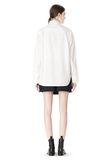 ALEXANDER WANG OVERSIZED DRESS SHIRT TOP  8_n_r