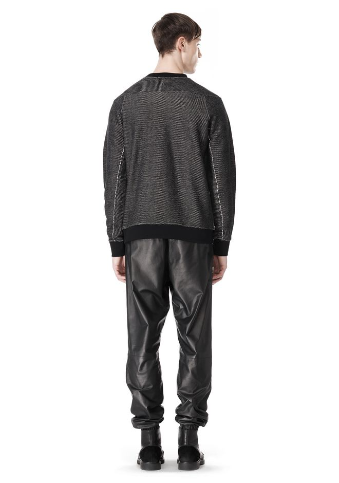 T by ALEXANDER WANG COTTON TWILL KNIT FRENCH TERRY SWEATSHIRT TOP Adult 12_n_r