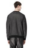 T by ALEXANDER WANG COTTON TWILL KNIT FRENCH TERRY SWEATSHIRT TOP Adult 8_n_d