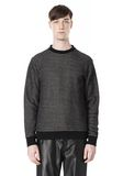 T by ALEXANDER WANG COTTON TWILL KNIT FRENCH TERRY SWEATSHIRT TOP Adult 8_n_e