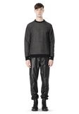 T by ALEXANDER WANG COTTON TWILL KNIT FRENCH TERRY SWEATSHIRT TOP Adult 8_n_f