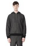 T by ALEXANDER WANG COTTON TWILL KNIT FRENCH TERRY HOODIE TOP Adult 8_n_e