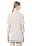 T by ALEXANDER WANG CLASSIC TEE WITH POCKET TOP Adult 8_n_d