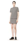 T by ALEXANDER WANG STRIPED BOATNECK TOP TOP Adult 8_n_f