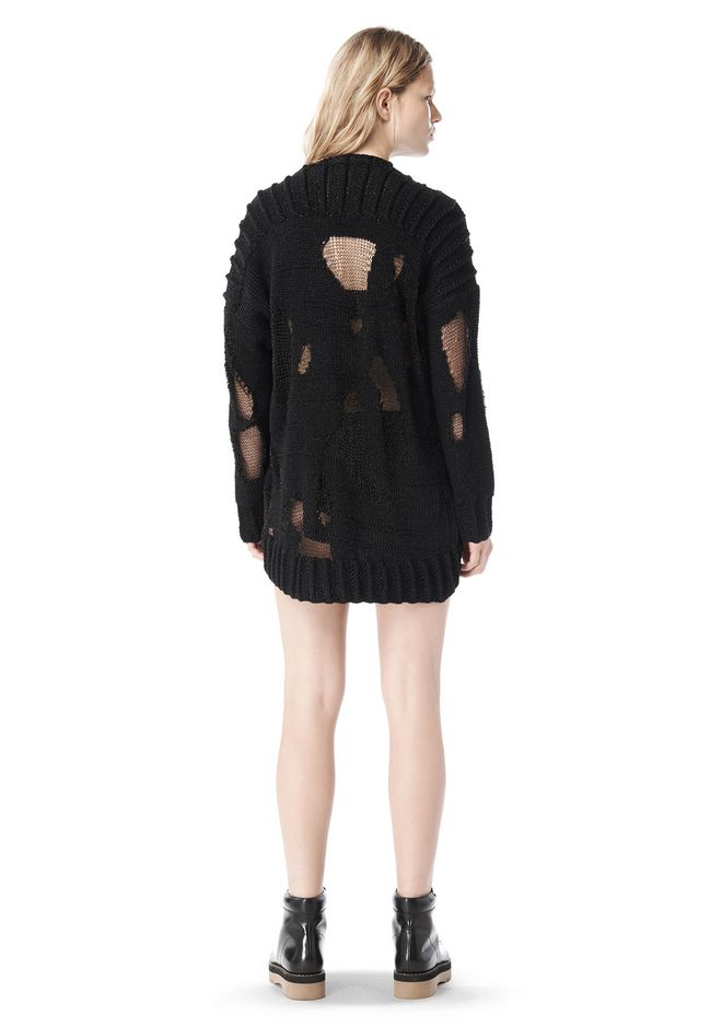 Alexander Wang SPRING 2009 OVERSIZED MARLED PULLOVER ...