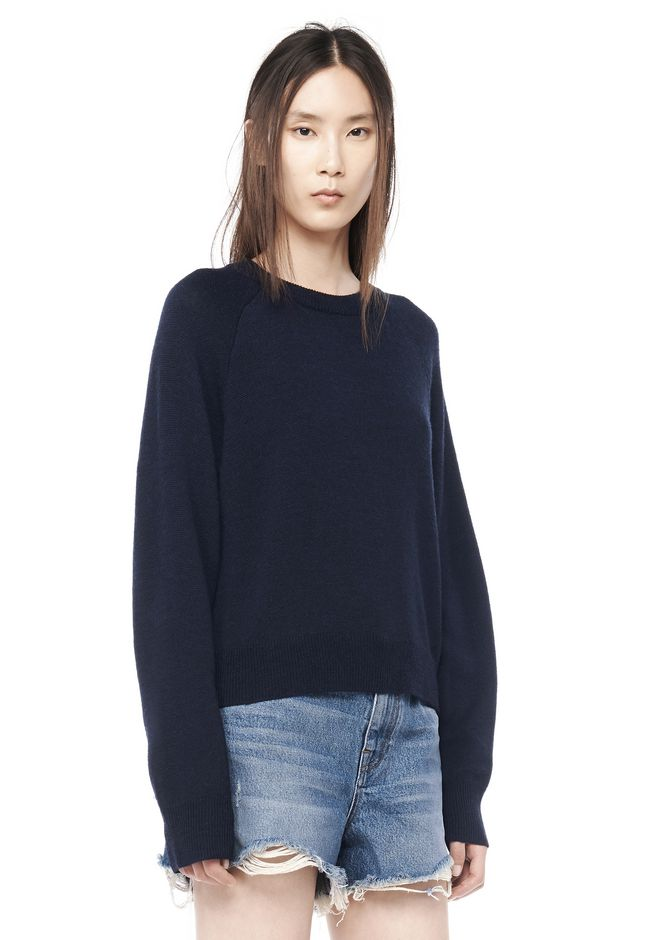 Cropped sweater Alexander Wang Real Cheap Online Really Cheap Huge Surprise Sale Online 2LRMTZEThN