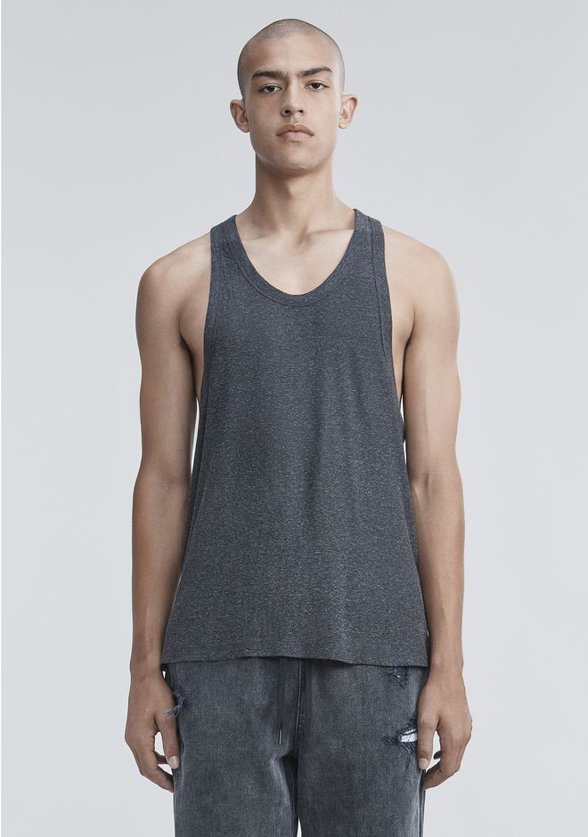 T by ALEXANDER WANG mens-new-apparel SLUB RAYON TANK
