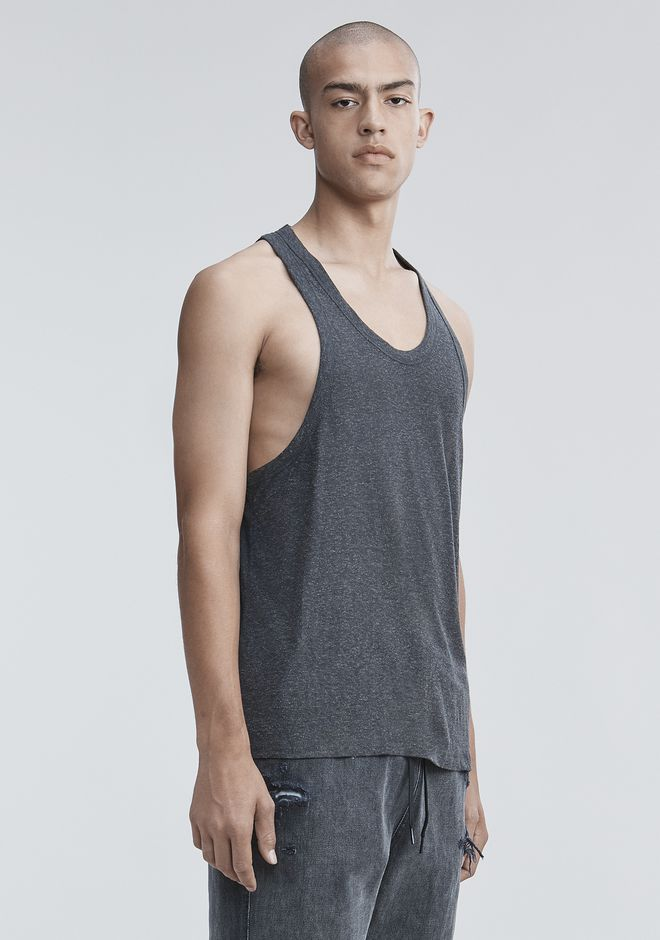 T by ALEXANDER WANG SLUB RAYON TANK  TOP Adult 12_n_a
