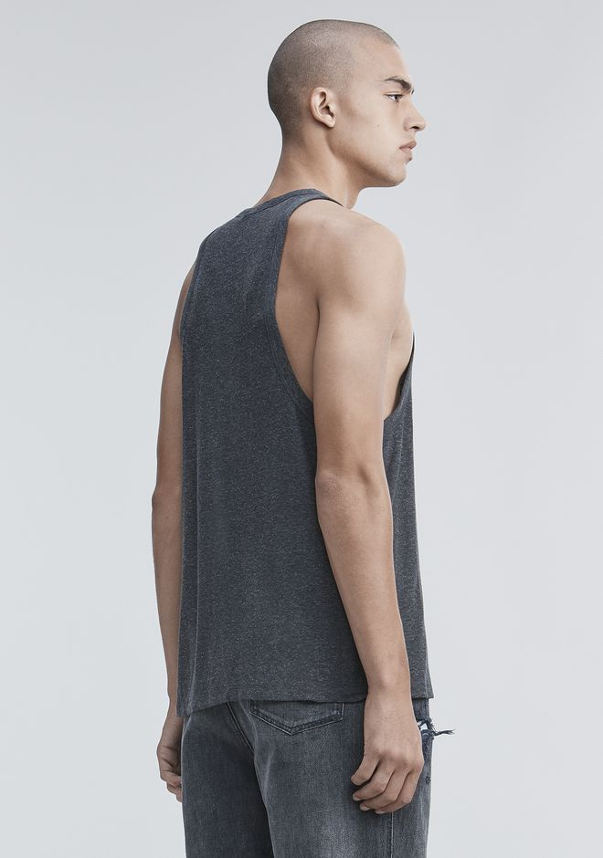 T by ALEXANDER WANG SLUB RAYON TANK TOP Adult 12_n_d