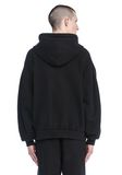 T by ALEXANDER WANG LONG SLEEVE ZIPPERED HOODED SWEATSHIRT 탑 Adult 8_n_d