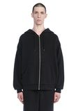 T by ALEXANDER WANG LONG SLEEVE ZIPPERED HOODED SWEATSHIRT 탑 Adult 8_n_e