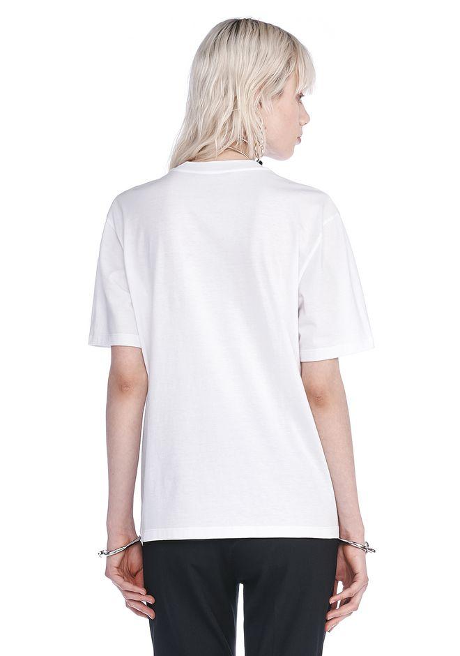 Alexander wang exclusive crewneck t shirt with patch for Alexander wang t shirt women