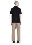 T by ALEXANDER WANG SHORT SLEEVE POLO TEE TOP Adult 8_n_r