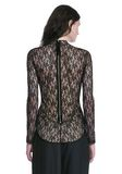 ALEXANDER WANG FLORAL LACE FITTED TOP TOP Adult 8_n_d