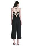 ALEXANDER WANG HALTER TOP WITH BACK SLIT LACING TOP Adult 8_n_r