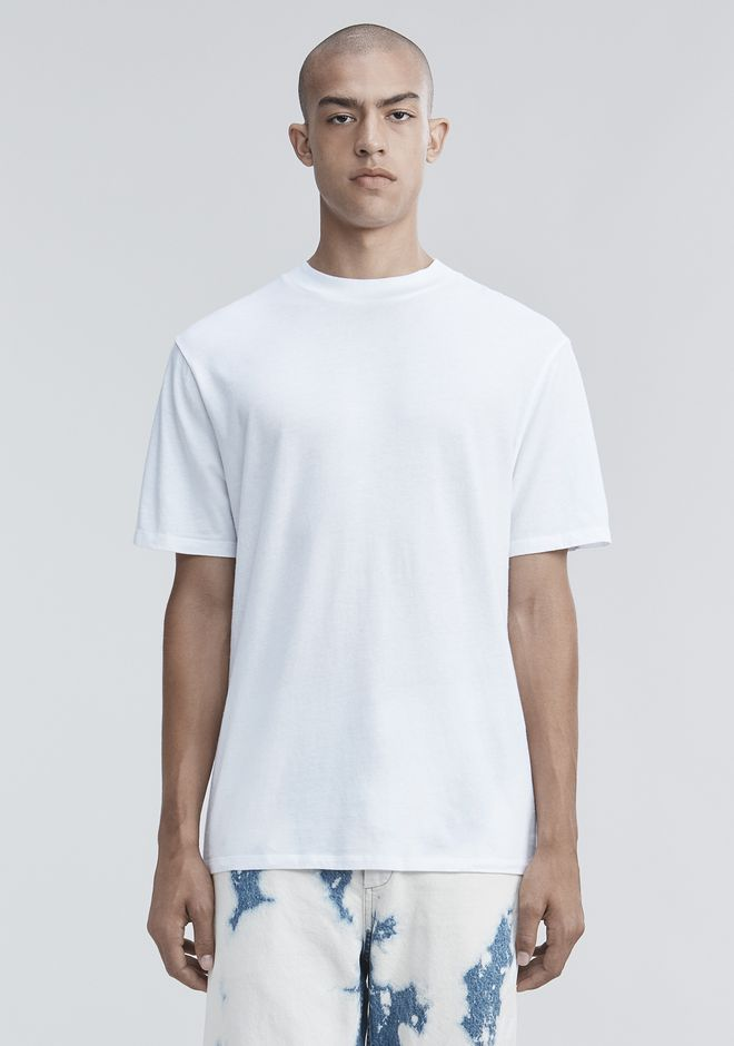 T by ALEXANDER WANG mens-classics SHORT SLEEVE HIGH NECK TEE