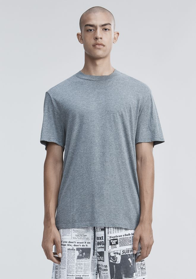 T by ALEXANDER WANG mens-new-apparel SHORT SLEEVE HIGH NECK TEE