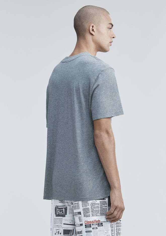 T by ALEXANDER WANG SHORT SLEEVE HIGH NECK TEE 탑 Adult 12_n_d