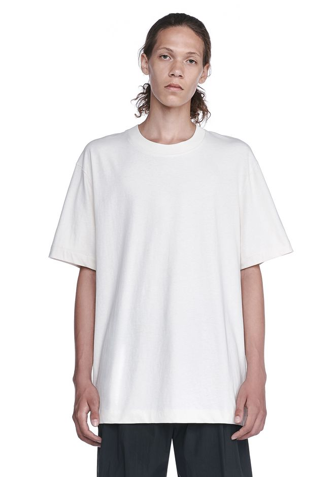T by ALEXANDER WANG TOPS HIGH TWIST MOCK NECK TEE