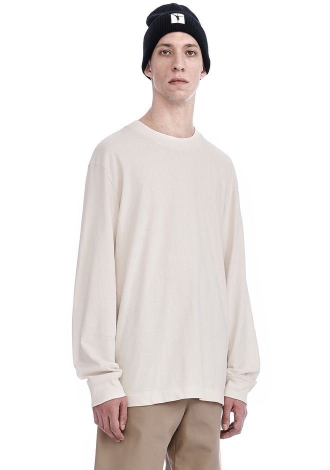 T by ALEXANDER WANG HIGH TWIST MOCK NECK LONG SLEEVE Long sleeve t-shirt Adult 12_n_a