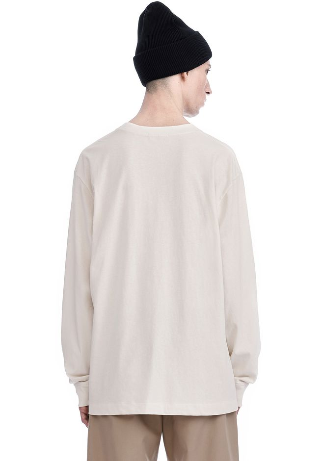 T by ALEXANDER WANG HIGH TWIST MOCK NECK LONG SLEEVE Long sleeve t-shirt Adult 12_n_d