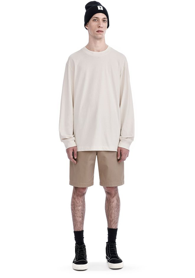 T by ALEXANDER WANG HIGH TWIST MOCK NECK LONG SLEEVE Long sleeve t-shirt Adult 12_n_f
