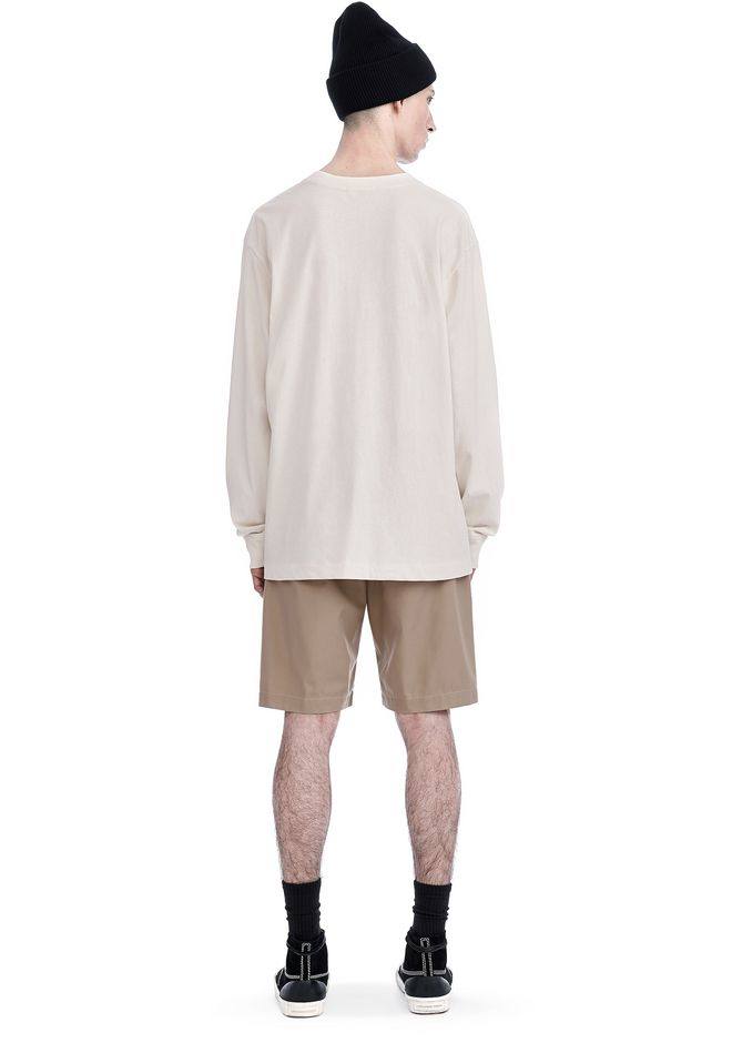 T by ALEXANDER WANG HIGH TWIST MOCK NECK LONG SLEEVE Long sleeve t-shirt Adult 12_n_r