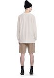 T by ALEXANDER WANG HIGH TWIST MOCK NECK LONG SLEEVE Long sleeve t-shirt Adult 8_n_r