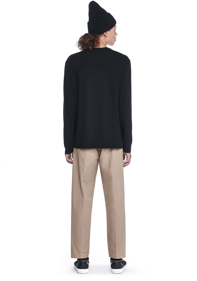 ALEXANDER WANG BARCODE LONG SLEEVE-SHIRT 上衣 Adult 12_n_r