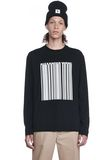 ALEXANDER WANG BARCODE LONG SLEEVE-SHIRT 上衣 Adult 8_n_e