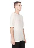 T by ALEXANDER WANG SLUB RAYON SILK CREWNECKTEE Short sleeve t-shirt Adult 8_n_a