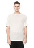 T by ALEXANDER WANG SLUB RAYON SILK CREWNECKTEE Short sleeve t-shirt Adult 8_n_e