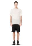 T by ALEXANDER WANG SLUB RAYON SILK CREWNECKTEE Short sleeve t-shirt Adult 8_n_f