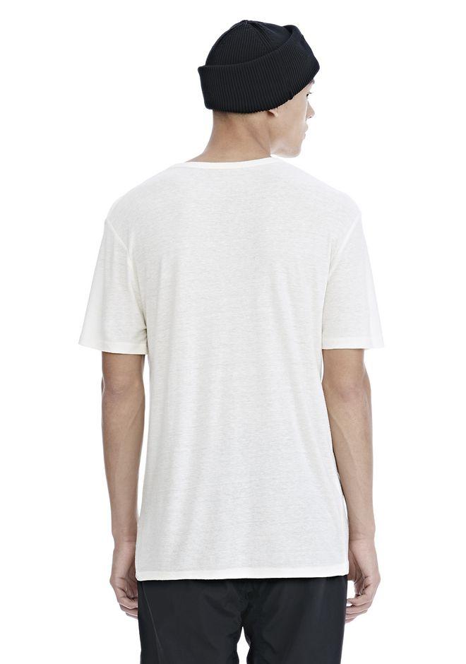 T by ALEXANDER WANG SLUB RAYON SILK CREWNECKTEE Short sleeve t-shirt Adult 12_n_d
