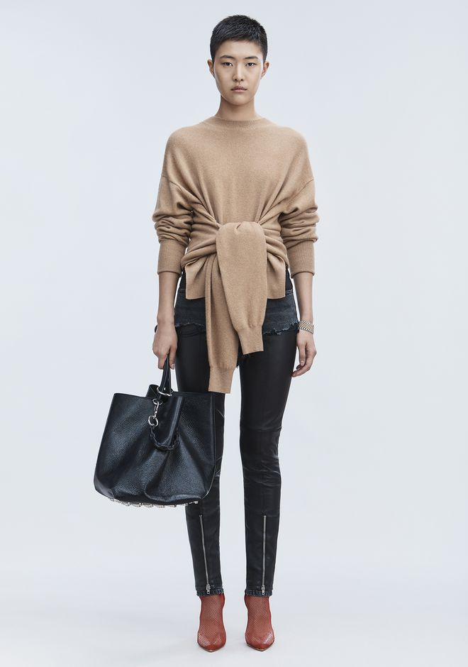 Hybrid Knit Pullover by Alexander Wang