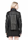 ALEXANDER WANG BOXY LEATHER JACKET Jacket Adult 8_n_d