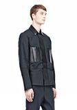 ALEXANDER WANG PADDED HUNTER JACKET WITH BONDED LEATHER COMBO Jacket Adult 8_n_a